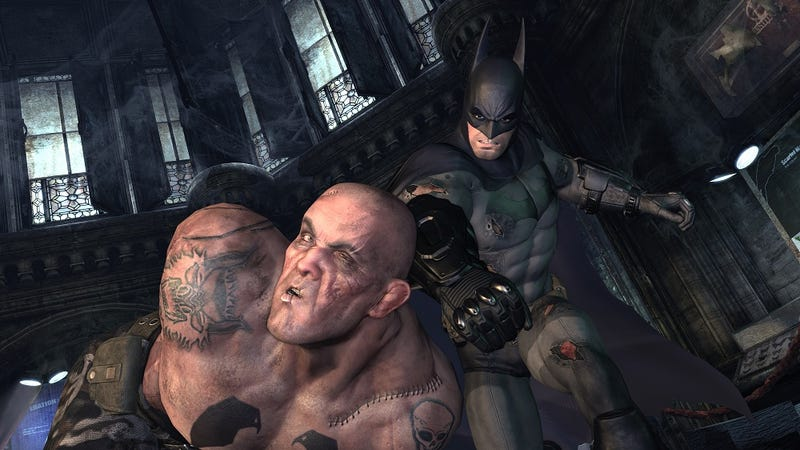 Illustration for article titled These Four New Batman: Arkham City Screens Are A Punch To the Face