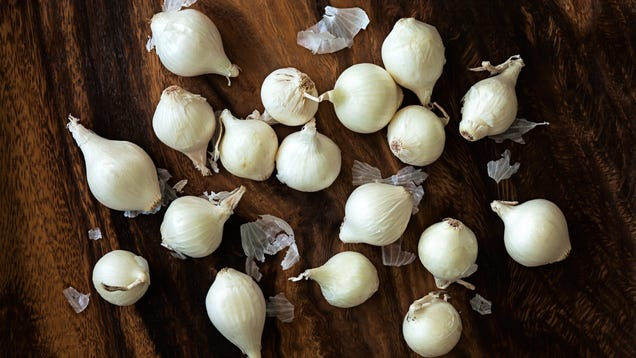 How to Peel Pearl Onions and Keep Them Whole