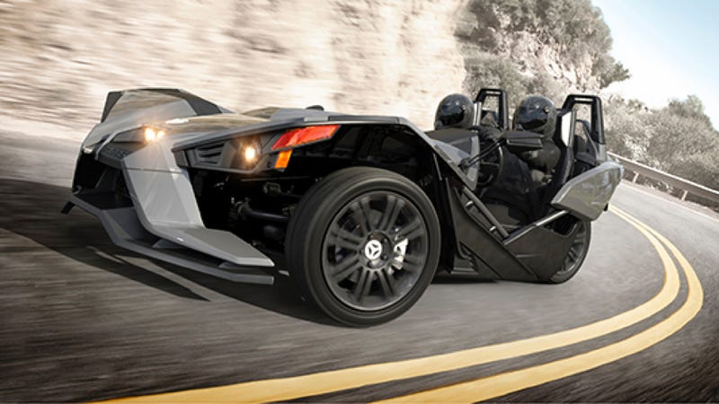 The polaris slingshot is your amazing new three wheeled track machine voltagebd Images
