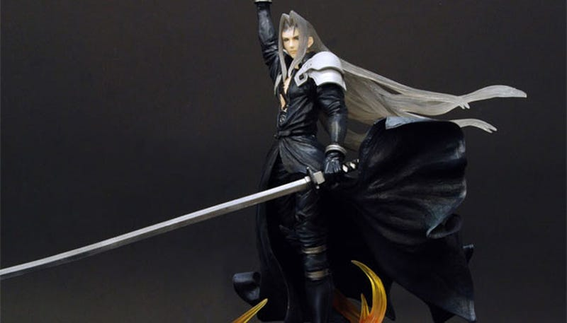 Illustration for article titled A Sephiroth Statue For Your Christmas (2009) Wishlist