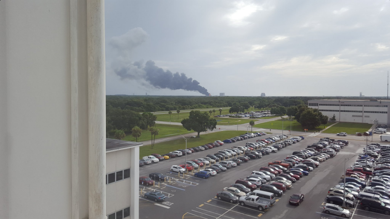 A SpaceX Rocket Just Exploded at Cape Canaveral