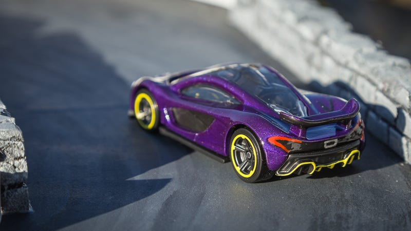 Custom Hot Wheels Mclaren P1