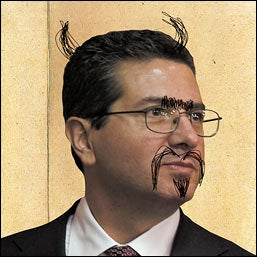 Illustration for article titled Dan Snyder Cries Anti-Semitism In Letter That Manages To Be Racist