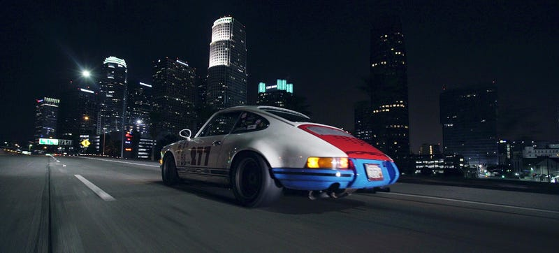 Illustration for article titled Let's Ramble Around Los Angeles At Midnight With Magnus Walker And A 911