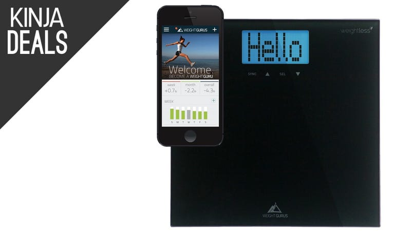 Illustration for article titled Track Your Weight With This Semi-Smart Scale for Only $15