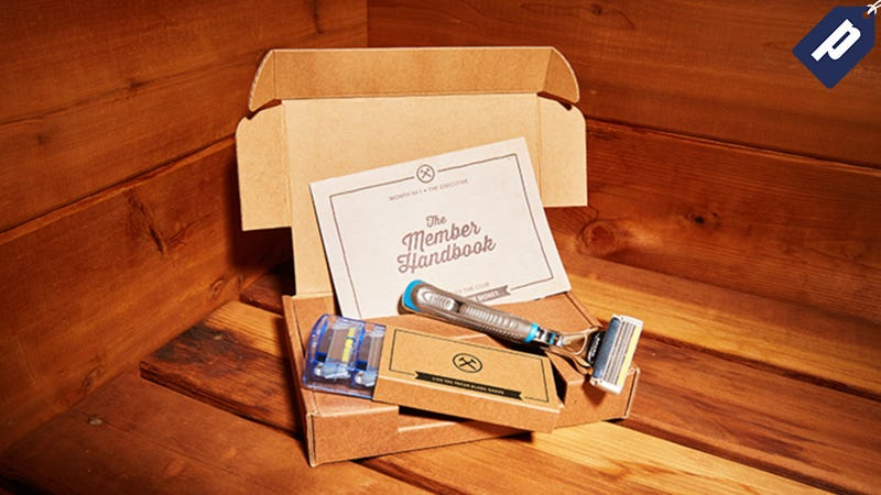 Illustration for article titled Dollar Shave Club: Fresh Monthly Razor Blades Delivered To You For Just $1