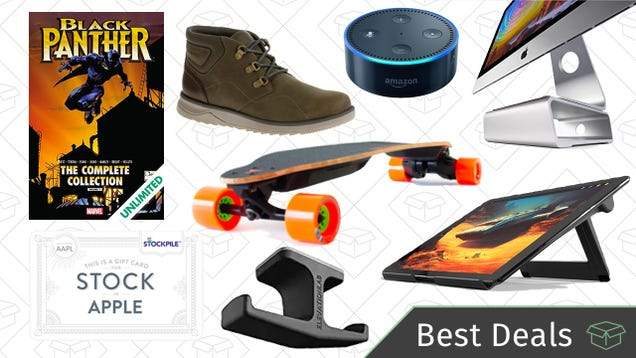 Friday s Best Deals: Electric Skateboard, Black Panther Comics, Valentine s Gifts, and More