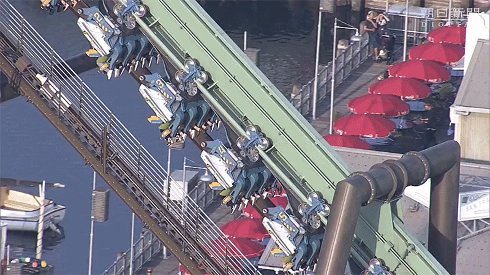 Riders Spent Two Hours Trapped On This Hanging Roller