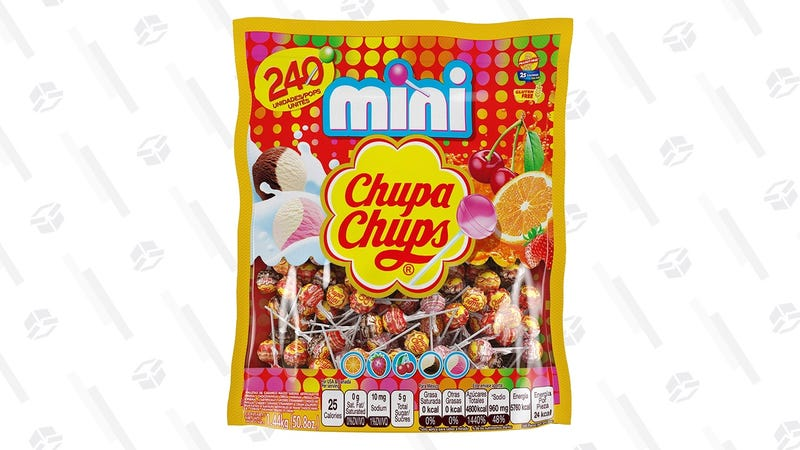 240 ct. Chupa Chups Mini Lollipops | $10 | Amazon | Clip the 25% coupon