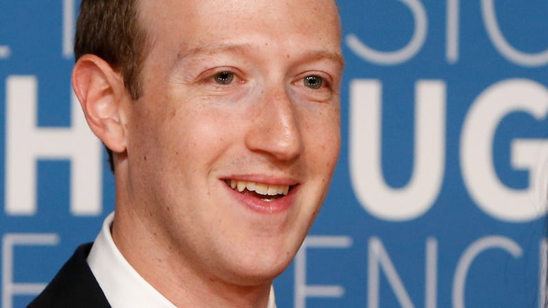 Mark Zuckerberg, head of a company that was literally complicit in genocide