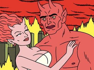 Illustration for article titled Dæmon Babies and Fire-Breathing Beasts (and Breasts) Await