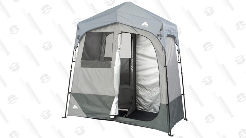 Ozark Trail Instant Shower/Utility Shelter | $79 | Walmart