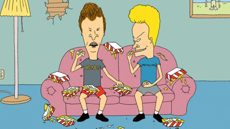 Illustration for article titled MTV confirms the return of Beavis And Butt-Head