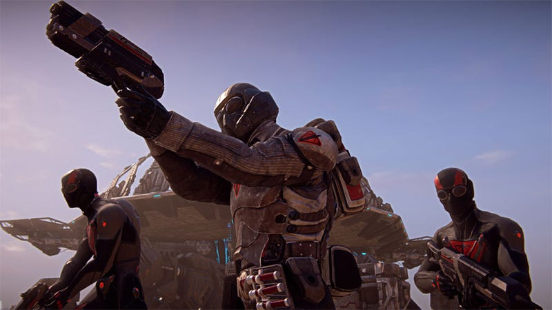 Illustration for article titled PlanetSide 2 Plays Like a First-Person Shooter, Not a Massively Multiplayer Compromise