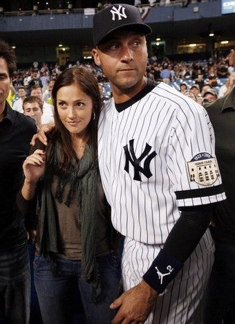 Illustration for article titled Jeter And Minka To Wed, Says Occasionally Reliable Tabloid