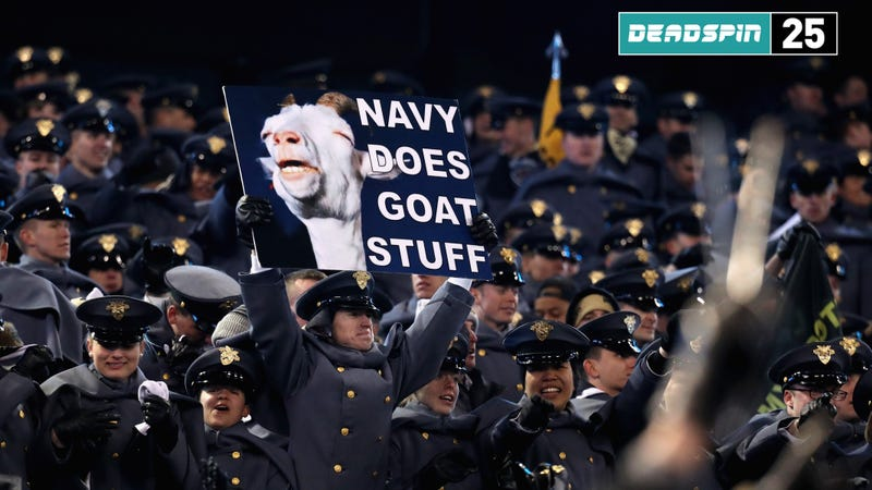 Illustration for article titled Army Beat Navy; Who Cares About The Other Games?