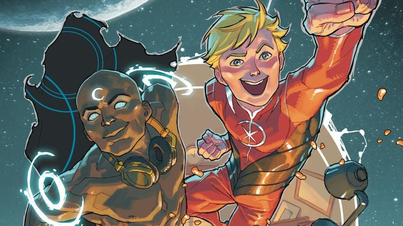 Illustration for article titled Exclusive Marvel preview: The New Universe is college for Starbrand & Nightmask