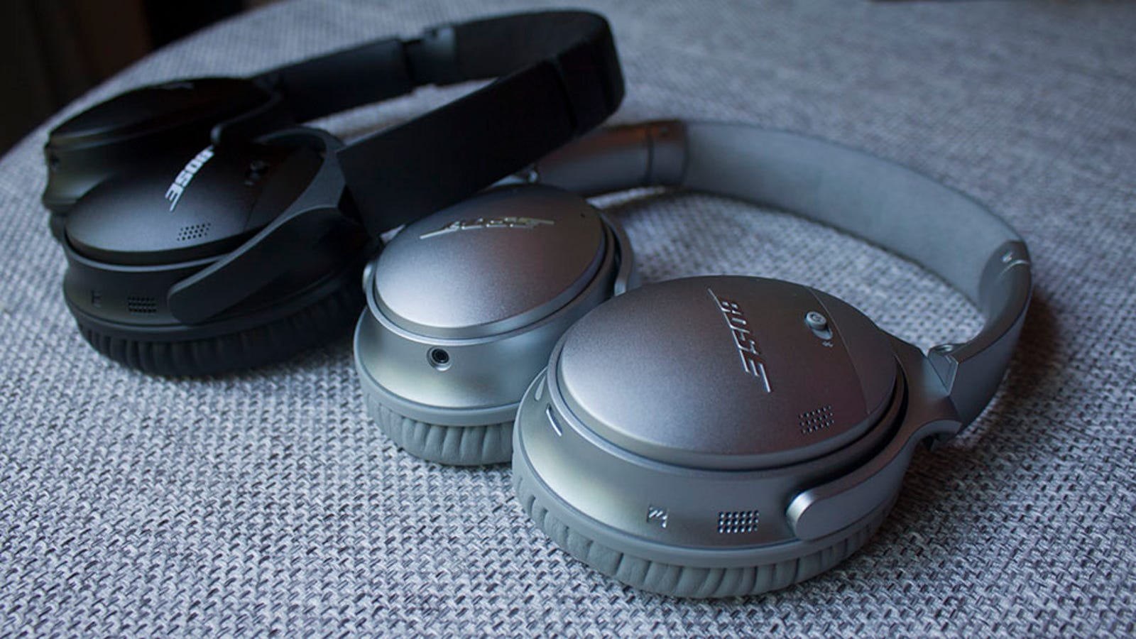 guitar headphone amp aux input - Bose's Best Noise-Canceling Headphones Finally Go Wireless