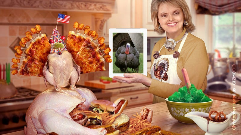 Illustration for article titled How to Keep Thanksgiving From Being a Family Tech Trainwreck