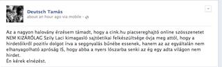 """Illustration for article titled """"Nyers lószar""""-nak nevezte a Cinket Deutsch Tamás, itt válaszolok neki"""