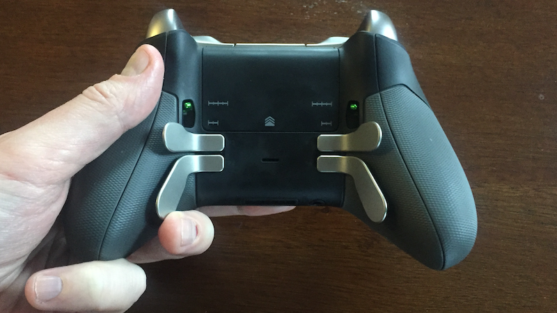 I'm Pretty Into These Buttons Under My Game Controller