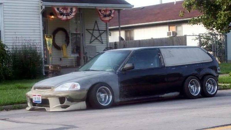 Honda Civic Custom >> Behold The Custom Honda Civic I Will Drive Into The Apocalypse