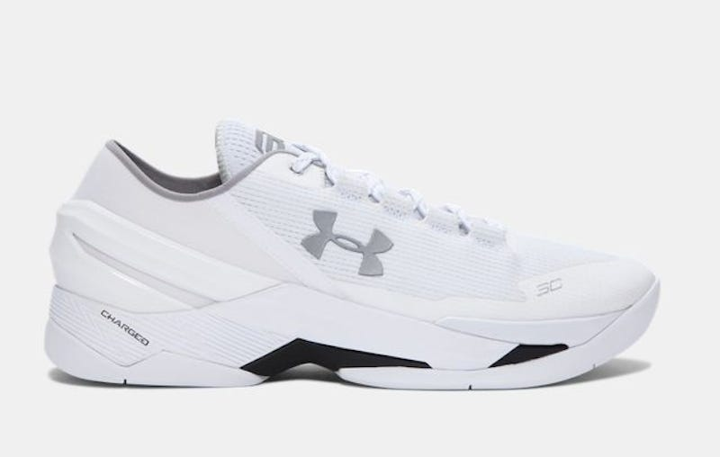 Steph Curry White Dad Shoes
