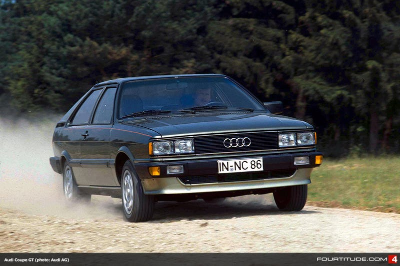 Cars that dont get enough Love Audi Coupe GT