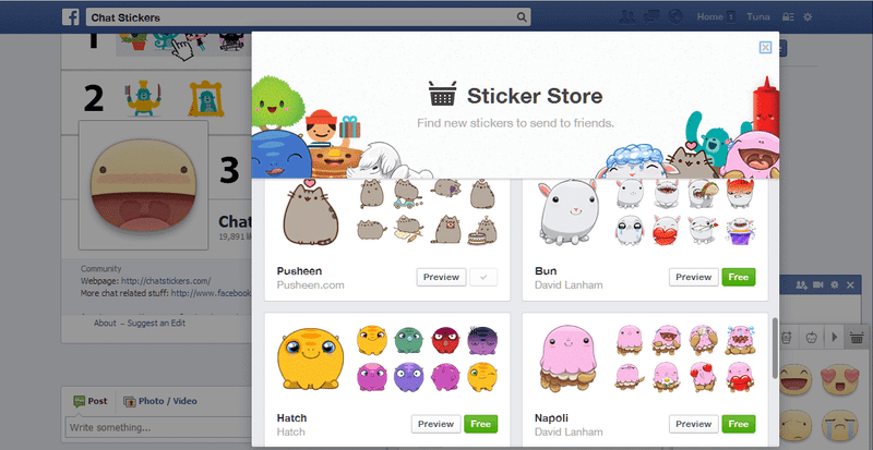 Illustration for article titled Facebook Added New Chat Sticker For Web Chat.