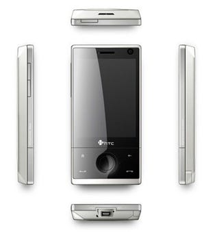 Illustration for article titled New HTC Touch Diamond Is White Like the Color White