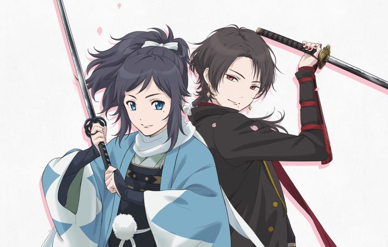 Illustration for article titled Touken Ranbu: Hanamaru Anime will come in October 2