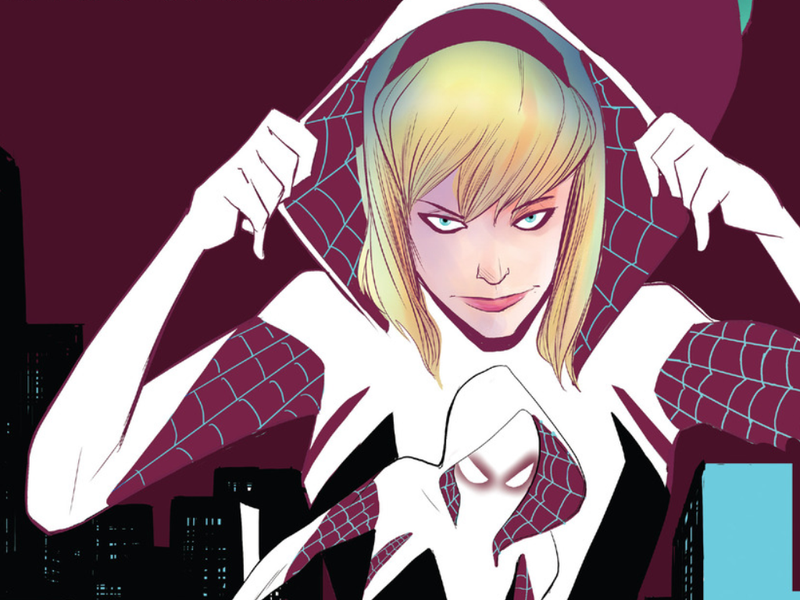 Illustration for article titled Spider-Man's Dead Girlfriend Is a Kick-Ass Superhero Now