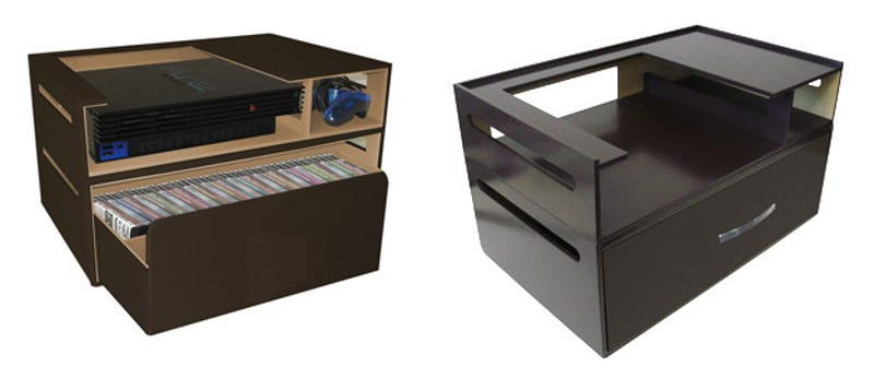 Kangaroomu0027s Stackable Console Storage Holds Games, Consoles