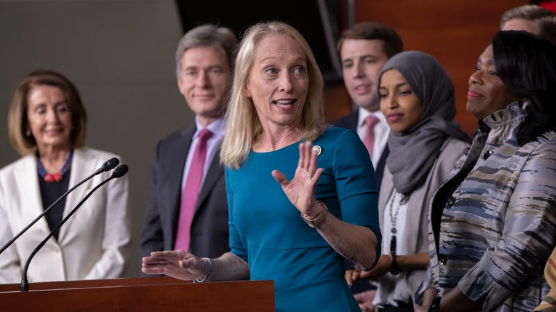 Recently sworn in, Rep. Mary Gay Scanlon of Pennsylvania is among the list of Democrats who've stated they will not support an effort to overturn the FCC's decision in Congress.