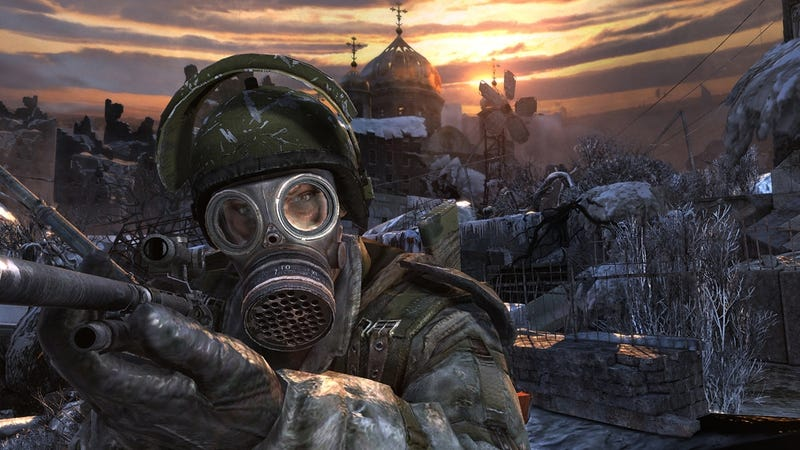 Illustration for article titled Russian post-apocalyptic phenomenon Metro 2033 could become a movie at last