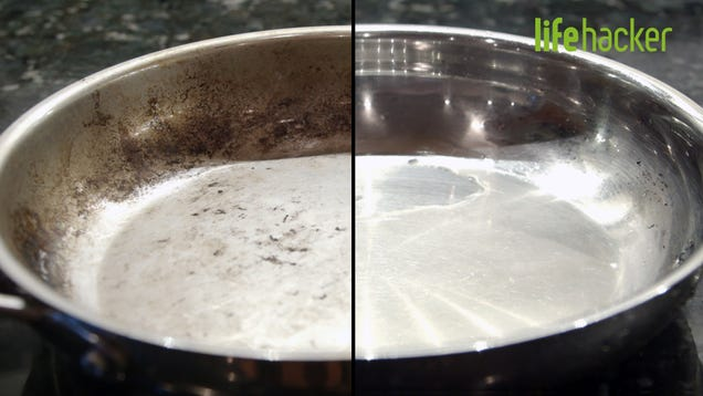 Our Best Methods to Clean Stained Pots and Pans