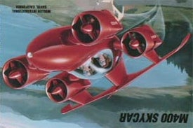 """Illustration for article titled Moller Has """"Substantial Doubts"""" That Their Flying Car Will Make it To Market"""