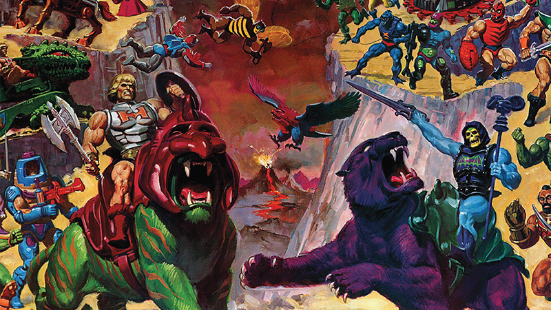 Illustration for article titled These Awesome New Books Chronicle the World ofMasters of the Universe