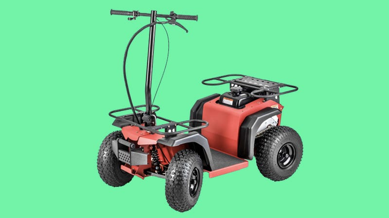 Illustration for article titled The Ripper ATV Is An Off-Road Scooter