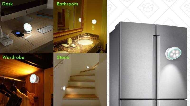 OxyLED Smart Fridge Light | $9 | Amazon | Use code OZ2CF6NL