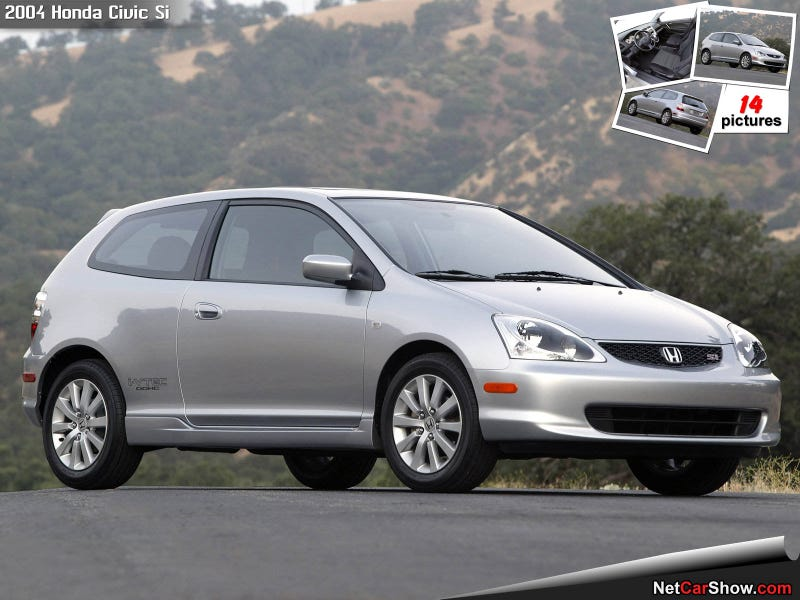 Illustration for article titled Shot review of the Honda civic si.