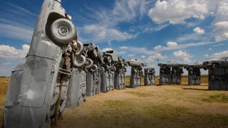 Illustration for article titled Buy Carhenge now for just $300,000