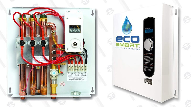 gift yourself a never-empty tankless water heater from this one-day sale