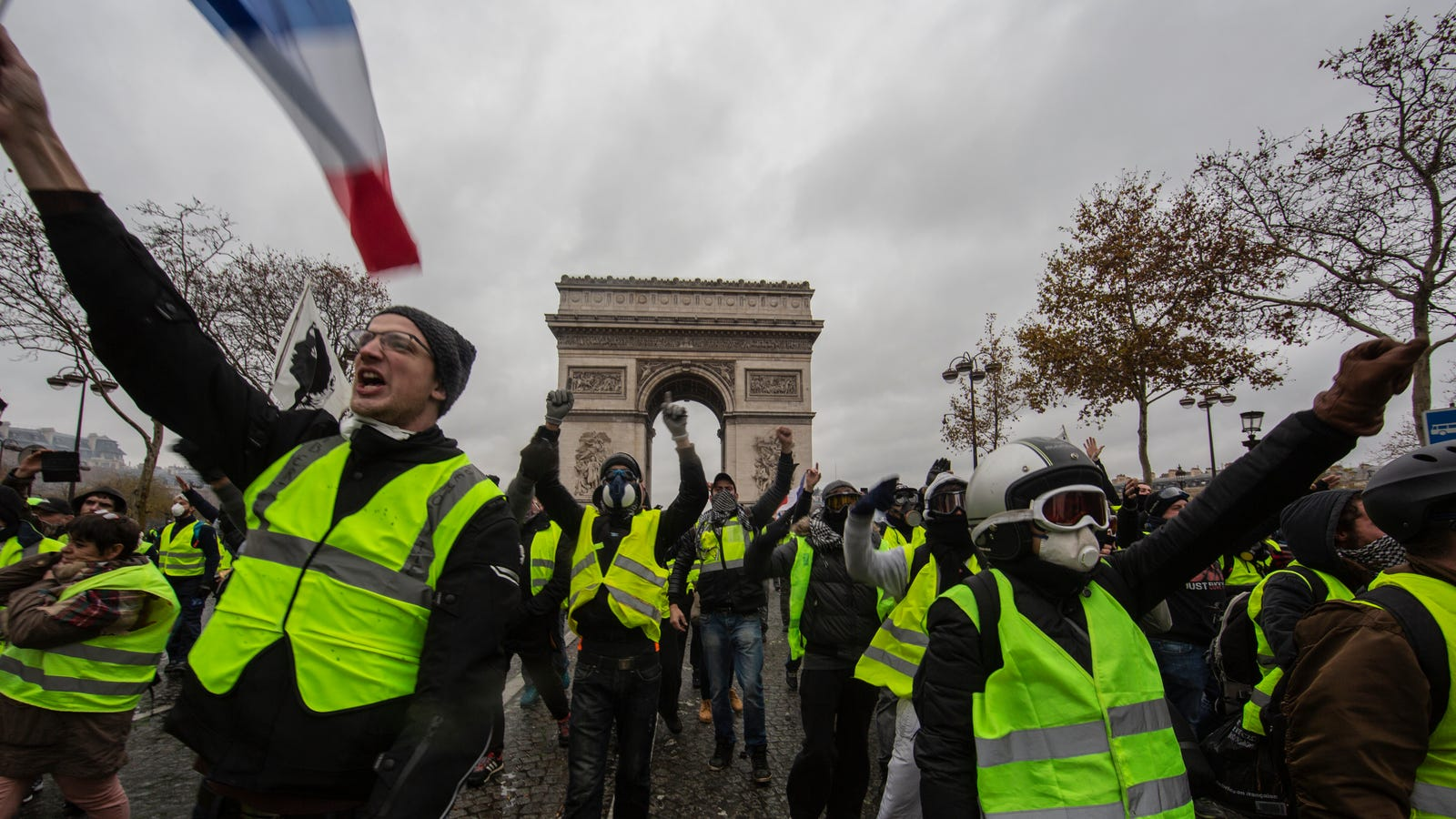 France's Gas Tax Disaster Shows We Can't Save Earth by Screwing Over Poor People