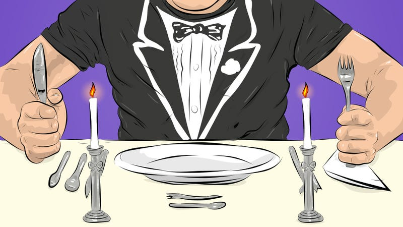 Illustration for article titled How To Eat At A Fancy Restaurant As Though You Belong There