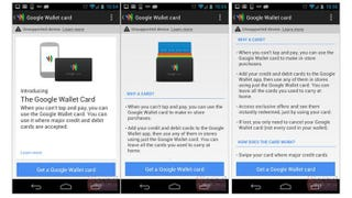 Illustration for article titled Help Site Confirmed Physical Google Wallet Card