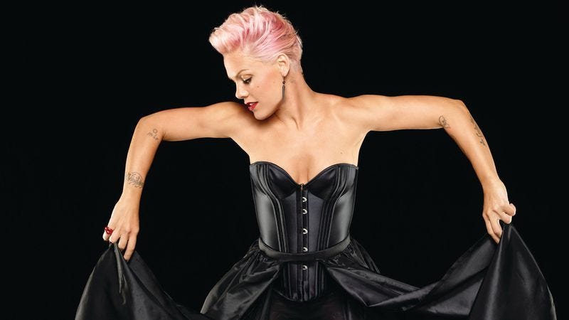 Illustration for article titled P!nk gives the world a reason to listen to Top 40