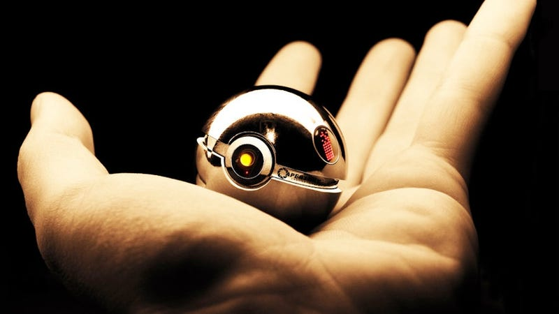 Illustration for article titled I Must Acquire This GLaDOS Pokéball Immediately