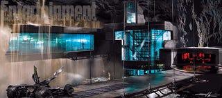 Illustration for article titled New Concept Art Shows Off Batman v Superman's Batcave