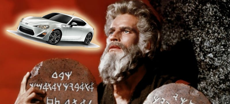 Illustration for article titled The Six Commandments Of Driving Are Rules We Can All Get Behind